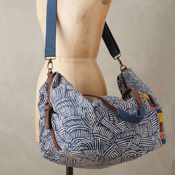 Anthropologie Handbags - Anthropologie Jasper & Jeera Teresa Weekender Bag